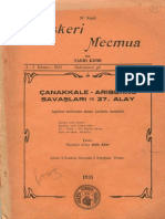 Çanakkale Arıburnu Savaşları-1935