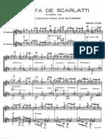 Domenico Scarlatti 2 Sonatas dúo