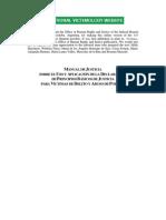 ONU Principios de Justicia Básicos para las Víctimas de Delito y Abuso del Poder
