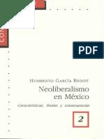 Neoliberalismo en México