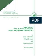 00 - Analysis of SPSW Using the Midified Strip Model (Alberta) - Unlocked