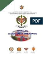 Manual de Elaboracao de Monografias 2013