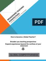Broadening Teaching Perspectives