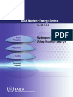 Hydrogen Production Using Nuclear Energy