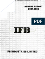 IFB Industries Ltd