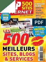Top 500 Sites Internet 13 - Aout à Octobre 2012