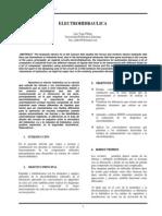 Informe de La Electrohidraulica en Ieee.
