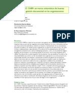 Alonso Garcia Lloveras - La Norma ISO 15489