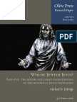 2012 - Michael D. Eldridge - Whose Jewish Jesus? - Part One. the Jewish and Christian Retrievals of the Historical Jesus Contrasted