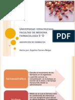 absorción de farmacos