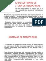 DISEÑO DE SOFTWARE DE ARQUITECTURA DE TIEMPO REAL
