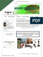 EDUCACIÓN TECNOLÓGICA 1º_ octubre 2011