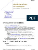 Mini Manual de Instalacion Latex