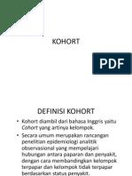 ppt kohort