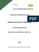 Manual de Estágio de Administração