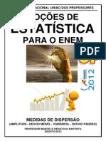 M Renato - Medidas - Dispersão