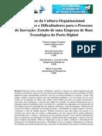 Aspectos Da Cultura Organizacional