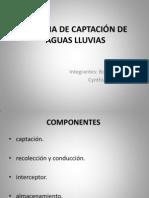 SISTEMA DE CAPTACIÓN DE AGUAS LLUVIAS
