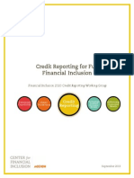 Credit Reporting for Full Financial Inclusion