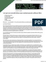 Por qué las escuelas deben usar exclusivamente software libre - Proyecto GNU - Free Software Foundation.pdf