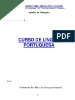 APOSTILA_DE_PORTUGUES Profª Ana Maria C. Chaparro
