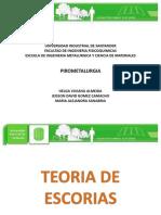 Exposicion Pirometalurgia-teoria de Escorias