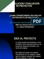 Curso Formulacion y Evaluacion de Proyectos_ Tecnologia Alinentos Fcv