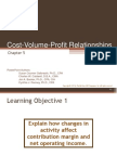 4.Cost-Volume-profit Relationships Powerpoint