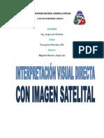 Interpretacion Visual Imagen Satelital