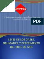 LEYES DE LOS GASES, NEUMÁTICA Y EXPERIMENTO