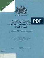Popplewell Final Report 1986