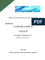 Manual Comunica c i On
