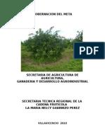 Informe publicar frutícola 2010