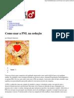 Como usar a PNL na sedução _ Atitude de Homem