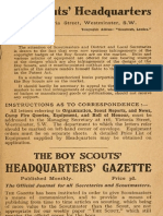 1910 Yarns for Boy Scouts r s s Baden-powell 228p