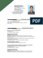 Curriculum Vitae Luis