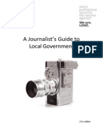 A Journalists' Guide to Local Government in New Zealand