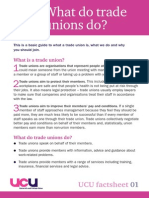 UCU Factsheet1 Unions