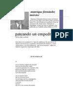 Fernández Moreno, Manrique - Pateando un empedrado