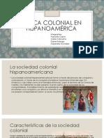 Época colonial en Hispanoamérica