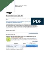 Todos Los Productos Para CANON 7D