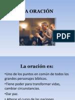 LA ORACIÓN, Clase 1