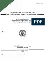 2007 FEMA Homeland Security & Emergency Preparedness 7 Day Survival Kit 4p