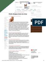 Rhinite Allergique (Rhume Des Foins)