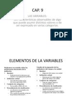 Cap 6_Investigacion_ Las Variables