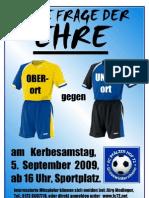 Flyer Kerbespiel 2009