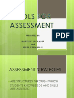 Tools for Assessing the Curriculum