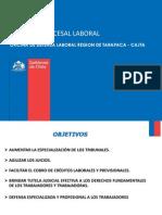 REFORMA PROCESAL LABORAL 2011 UNAP Dº 2011-2012