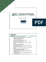 Ccna1 Mod7 Ethernet Technology