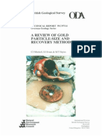 A Review of Gold Particle Size and Recovery Methods WC-97-014